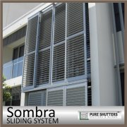 Sliding Aluminium louver window