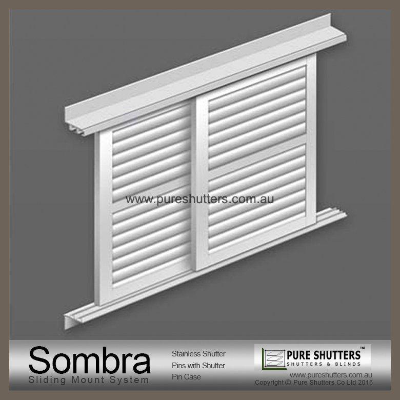 Sliding Aluminium Louver Windowpure Shutters Company Limited