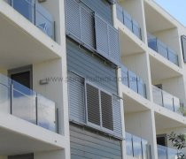 Aluminium Louvres reduce heating and cooling costs